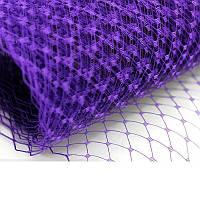 Вуаль шляпная Фиолетовая 22x50 cм, фото 1