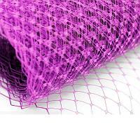 Вуаль шляпная Пурпурная 23x50 cм