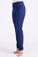 Классические брюки Наоми синего цвета