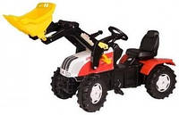 Трактор Steyr CVT 6225 с ковшом Rolly Toys 046317
