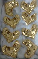Сусальное золочение резных деревянных рам и элементов декора., фото 5