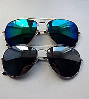 Очки солнцезащитные авиаторы Ray Ban женские и мужские
