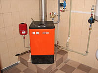 Отопление автономное, установка радиаторов, пелетные котлы