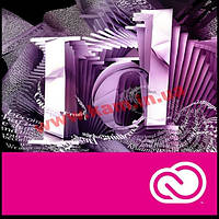 InDesign CC Multiple Platforms Multi European Languages 1 USER 1 Year (65227461BA04A12)