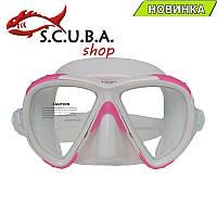 Маска для подводного плавания Marlin Twist pink/white (розовая), фото 1
