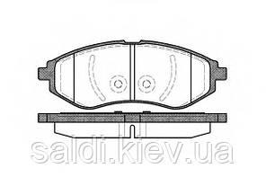 Тормозные колодки передние шевроле авео Lanos/Aveo FERODO FDB1699 Киев