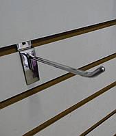 Крючок на Экономпанель 10см Металл Хром
