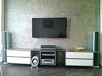 Тумба под ТВ и встроенная стенка в гостиную