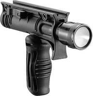 Рукоятка передняя FAB Defense , складная, встроенное крепление для фонарей 30 мм