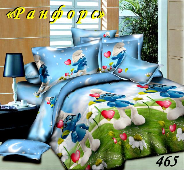 Полуторное постельное белье Тет-А-Тет 465