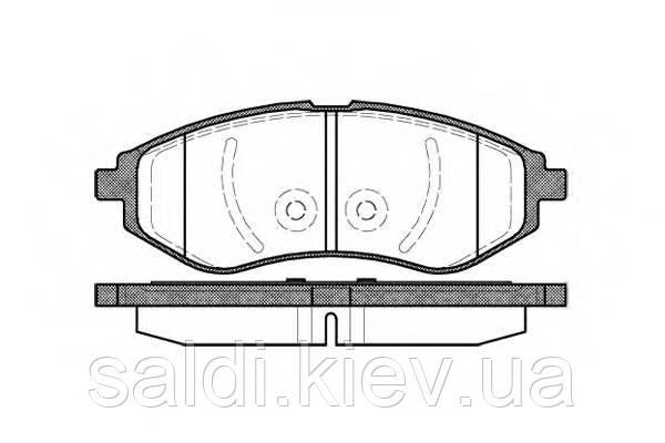 Тормозные колодки шевроле авео AVEO LPR 05P1080 Киев
