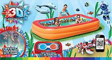 Детский надувной бассейн с 3D рисунком Bestway 54114, фото 3