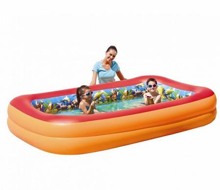 Детский надувной бассейн с 3D рисунком Bestway 54114, фото 2
