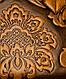 Красивая сумка с цветочным тиснением из искусственной кожи Traum 7230-12, коричневый, фото 5