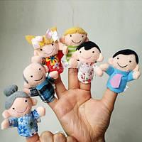 Детский пальчиковый кукольный театр 6 персонажей