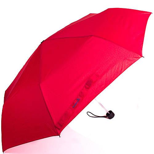 Ярко-красный женский компактный зонт, механический HAPPY RAIN (ХЕППИ РЭЙН) U42651-3