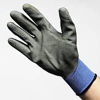 Перчатка защитная RTELA (полиэстер/вулканизированное покрытие), Польша
