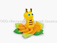 Фигурки из мастики  - Пчёлка в жёлтом цветке - 30920, фото 1