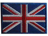 Аппликация термоклеевая флаг 003