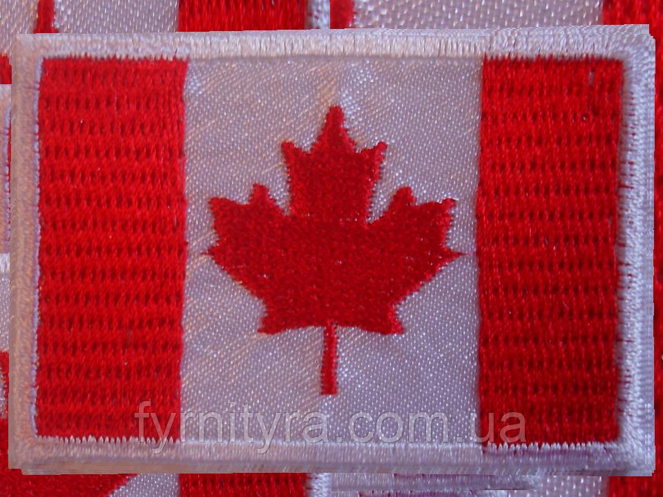 Аппликация термоклеевая флаг 004