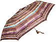 Полосатый женский зонт, полуавтомат AIRTON Z3615-5158 коричневый, фото 2