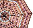Полосатый женский зонт, полуавтомат AIRTON Z3615-5158 коричневый, фото 3