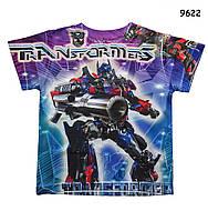Футболка Transformers для мальчика. 100 см