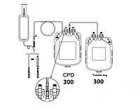 Подвійні контейнери для взяття крові з розчином ЦФД (аналог Глюгицир) 300/300 ЦФД (аналог Глюгицир)