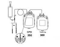 Подвійні контейнери для взяття крові з розчином ЦФД (аналог Глюгицир) 350/300 ЦФД (аналог Глюгицир)