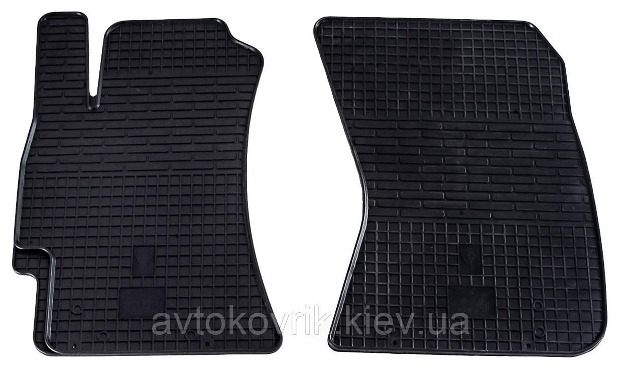 Резиновые передние коврики в салон Subaru Forester III (SH) 2008-2011 (STINGRAY)
