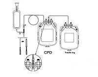 Подвійні контейнери для взяття крові з розчином ЦФД (аналог Глюгицир)