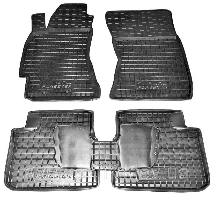 Полиуретановые коврики в салон Subaru Forester III (SH) 2008-2011 (AVTO-GUMM)