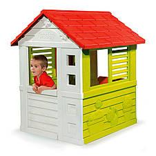 """Игровые площадки «Smoby» (310069) домик дачный """"Nature"""" с раздвижными ставнями, фото 3"""