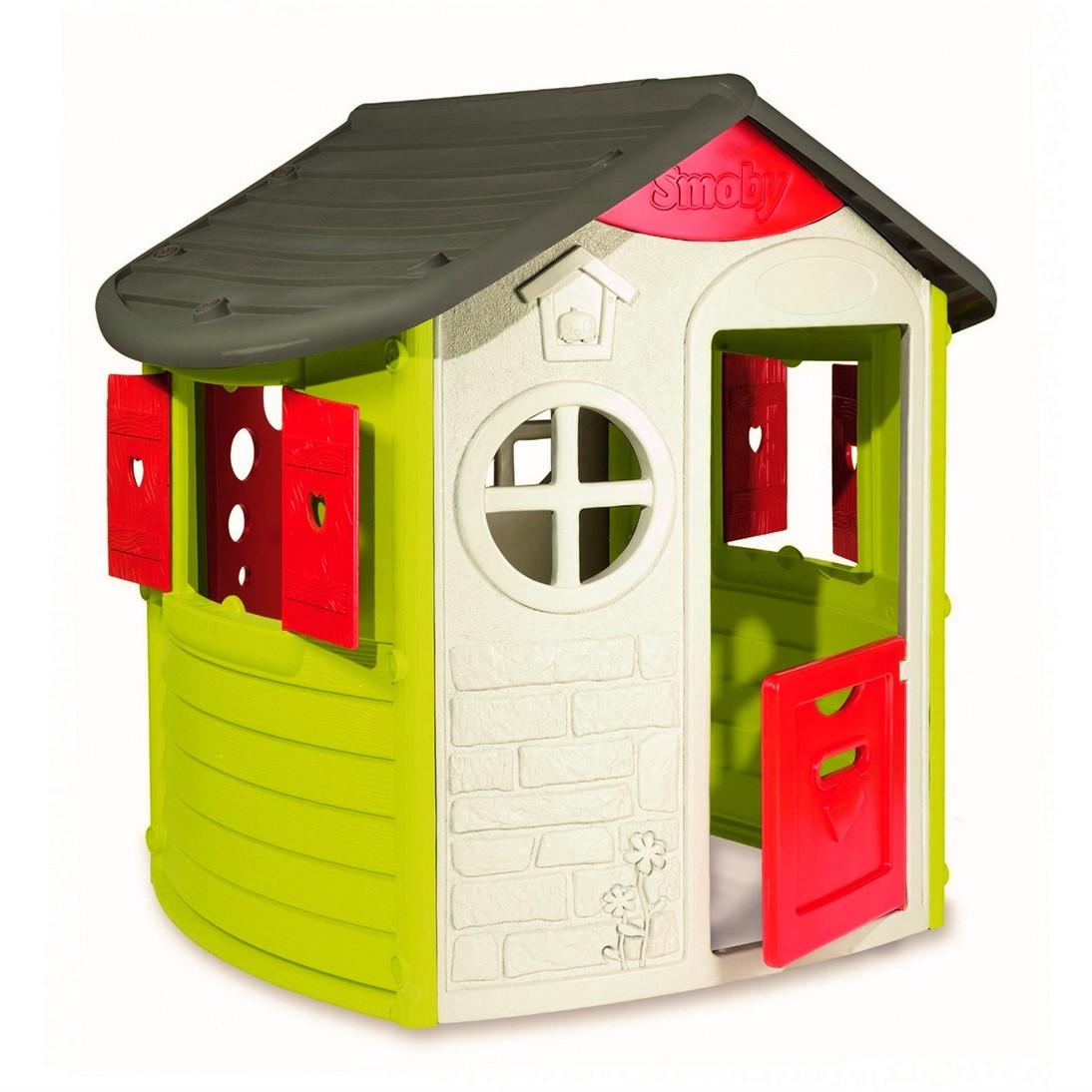 "Игровые площадки «Smoby» (310263) домик лесника ""Jura Lodge"" со ставнями и ключом"