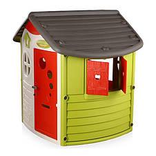 "Игровые площадки «Smoby» (310263) домик лесника ""Jura Lodge"" со ставнями и ключом, фото 2"