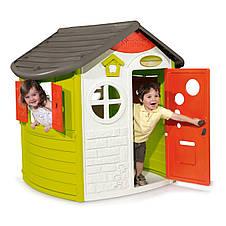 "Игровые площадки «Smoby» (310263) домик лесника ""Jura Lodge"" со ставнями и ключом, фото 3"