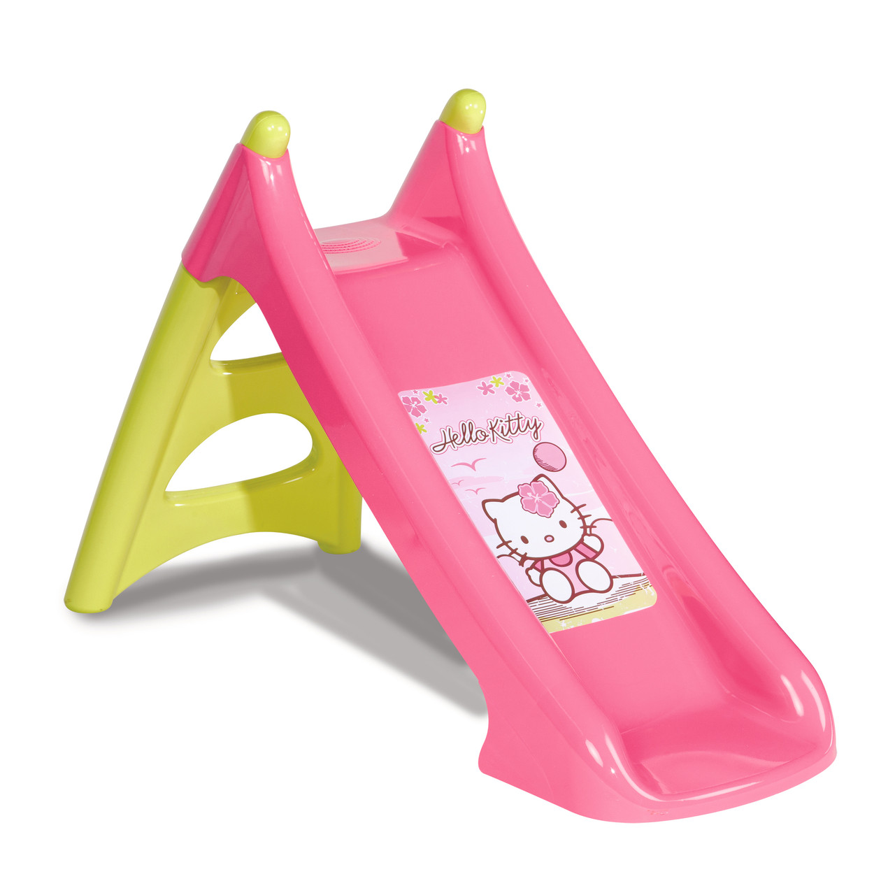 """Игровые площадки «Smoby» (310255) горка садовая """"Hello Kitty"""" с водным эффектом, длина спуска 90 см"""