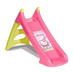 """Игровые площадки «Smoby» (310255) горка садовая """"Hello Kitty"""" с водным эффектом, длина спуска 90 см, фото 2"""