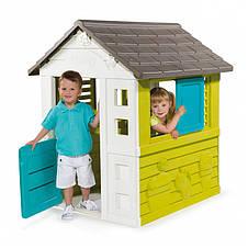 """Игровые площадки «Smoby» (310064) домик дачный """"Уикенд (Pretty)"""" с раздвижными ставнями, фото 3"""