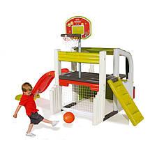 """Игровые площадки «Smoby» (310059) спортивно-игровой центр """"Активные игры (Fun Center)"""" с баскетбольной, фото 3"""