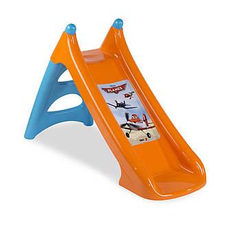 """Игровые площадки «Smoby» (310271) горка садовая """"XS"""" """"Самолёты (Planes)"""" с водным эффектом, длина спуска 90 см, фото 2"""