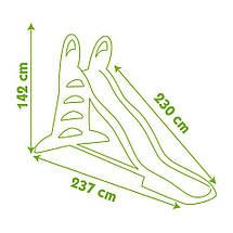 """Игровые площадки «Smoby» (310261) горка садовая """"XL"""" с водным эффектом, длина спуска 230 см, фото 3"""