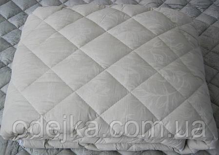 Одеяло шерстяное двухспальное бязь куб. 180*210 хлопок (2894) TM KRISPOL Украина