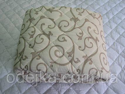Одеяло шерстяное полуторное бязь куб. 150*210 хлопок (2893) TM KRISPOL Украина