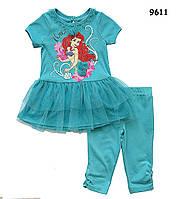 Летний костюм Ariel для девочки. 12 мес, фото 1