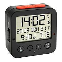 60252801 Будильник TFA Bingo, чёрный, 81х33х81 мм