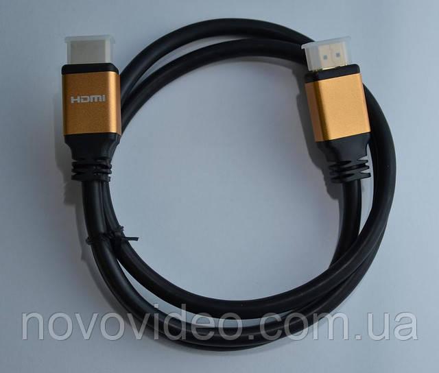 Кабель HDMI - HDMI v 1.4 производства ATCOM (Этком)  1.0 м длиной