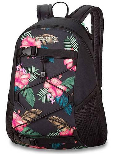 Городской женский рюкзак с яркой вставкой на фасаде Dakine WOMENS WONDER 15L alana 610934897692 черный