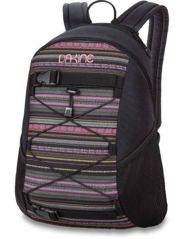 Классный женский рюкзак с декором для скейтборда Dakine WOMENS WONDER 15L fiesta 610934897715 черный