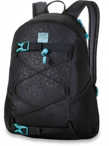 Шикарный женский рюкзак в принт для борда, черный Dakine WOMENS WONDER 15L lattice floral 610934861433